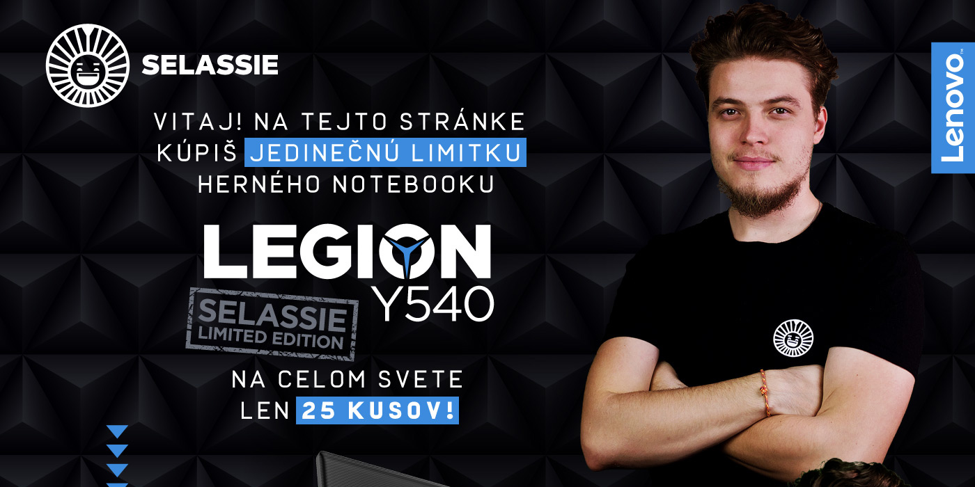 Lenovo Legion Y540-17IRH - Herný notebook (Selassie Limited Edition)